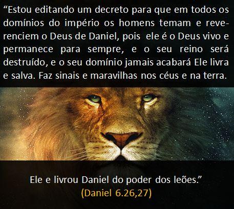 o poder de deus, daniel na cova dos leões