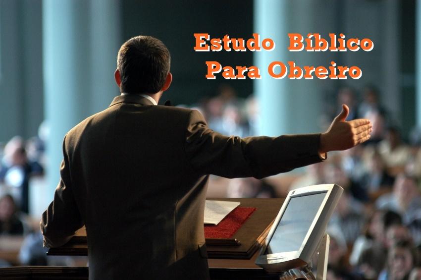 estudo biblico para obreiro